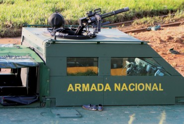 Dillon Aero Griffon Hovercraft Mount and M134D-H Weapon System
